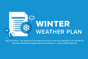 Winter weather plan graphic
