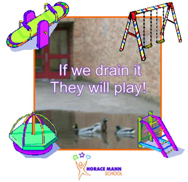 if we drain it they will play