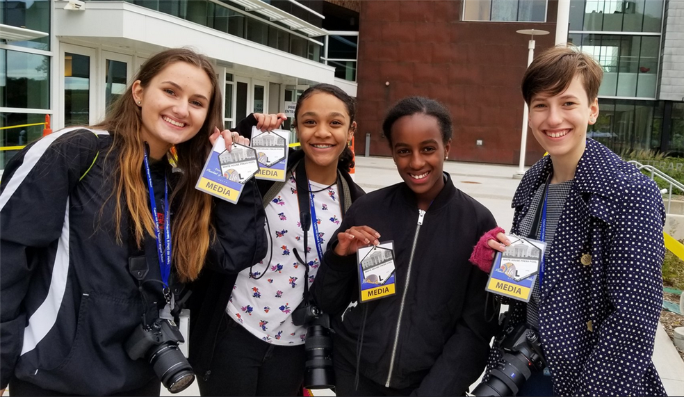 Capitol HIll Student Journalists Credentialed by White House