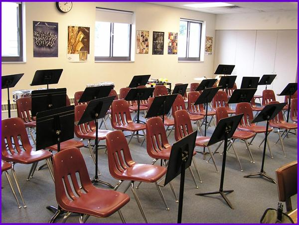 Band Room at Horace Mann School