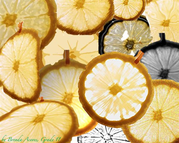 Layers with Lemon by Brenda Macias