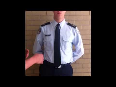 Afjrotc how to tie your necktie necktie ccuart Image collections