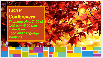 Fall Conference Flyer created with Google Docs Presentation by Chor