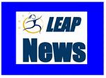 Check out the weekly LEAP News by clicking on this logo - created using iMovie