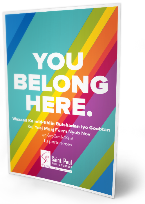 you belong here poster