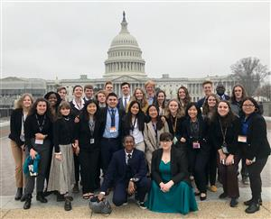 AP Gov students on Close Up Washington D.C. Trip