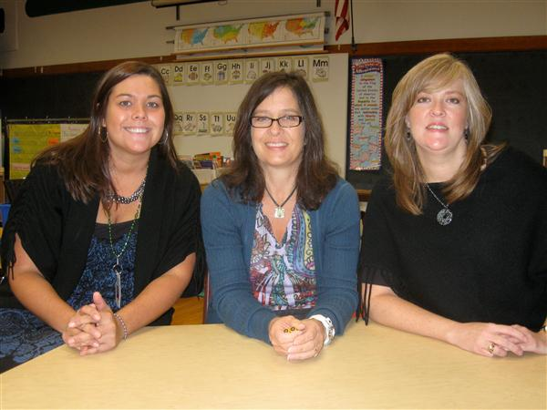 Miss Nelson, Mrs. Dochniak, and Ms. Ferguson