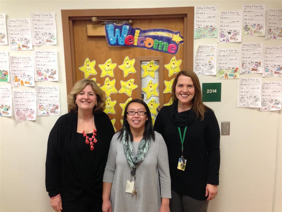 First Grade Teachers (Mrs. Blodgett, Ms. Thao, & Mrs. Swift)