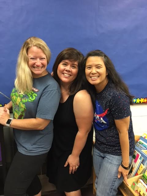Mrs. Brown, Mrs. Kimberly and Mrs. Venegas