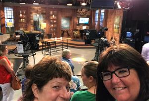 At Twin Cities Live taping