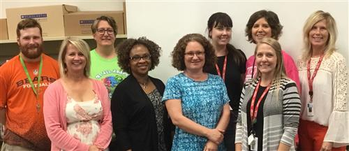 Mr. Barker, Ms. Dums, Ms. Gallotwitz, Nurse Obasi, Ms. Gordon, Ms. Jakubic, Ms. Ekberg, Ms. Johansen, and Ms. Close