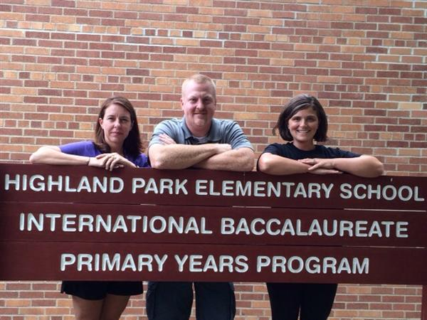 HPE's Kindergarten Team: Ms. Rust, Mr. Abenth, & Mrs. Hansen
