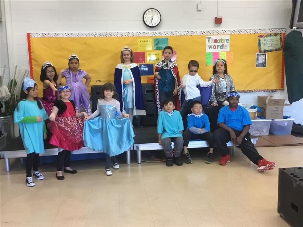 2nd Grade Musical Student Actors