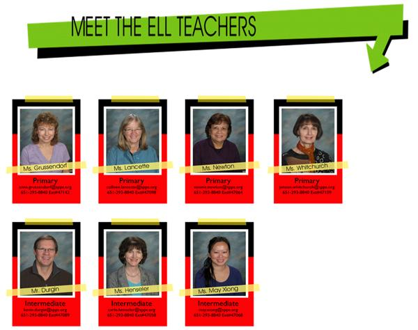 Meet the ELL Teachers