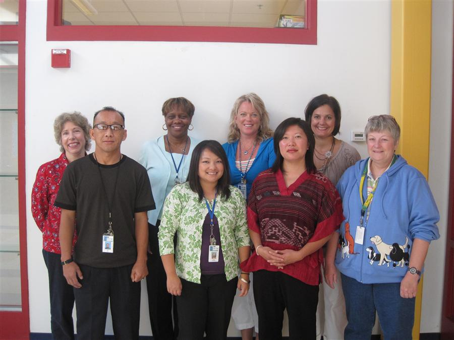 Ms. Petras (Occupational Therapy) Ms. Lee (Social Worker), Ms. Gibson (LD3), Ms. Khang (Speech), Ms. Reiman-Knee (Speech) Ms.