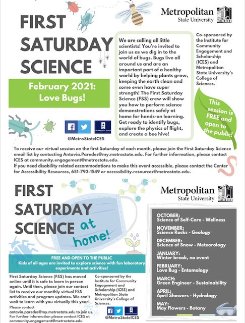First Saturday Science