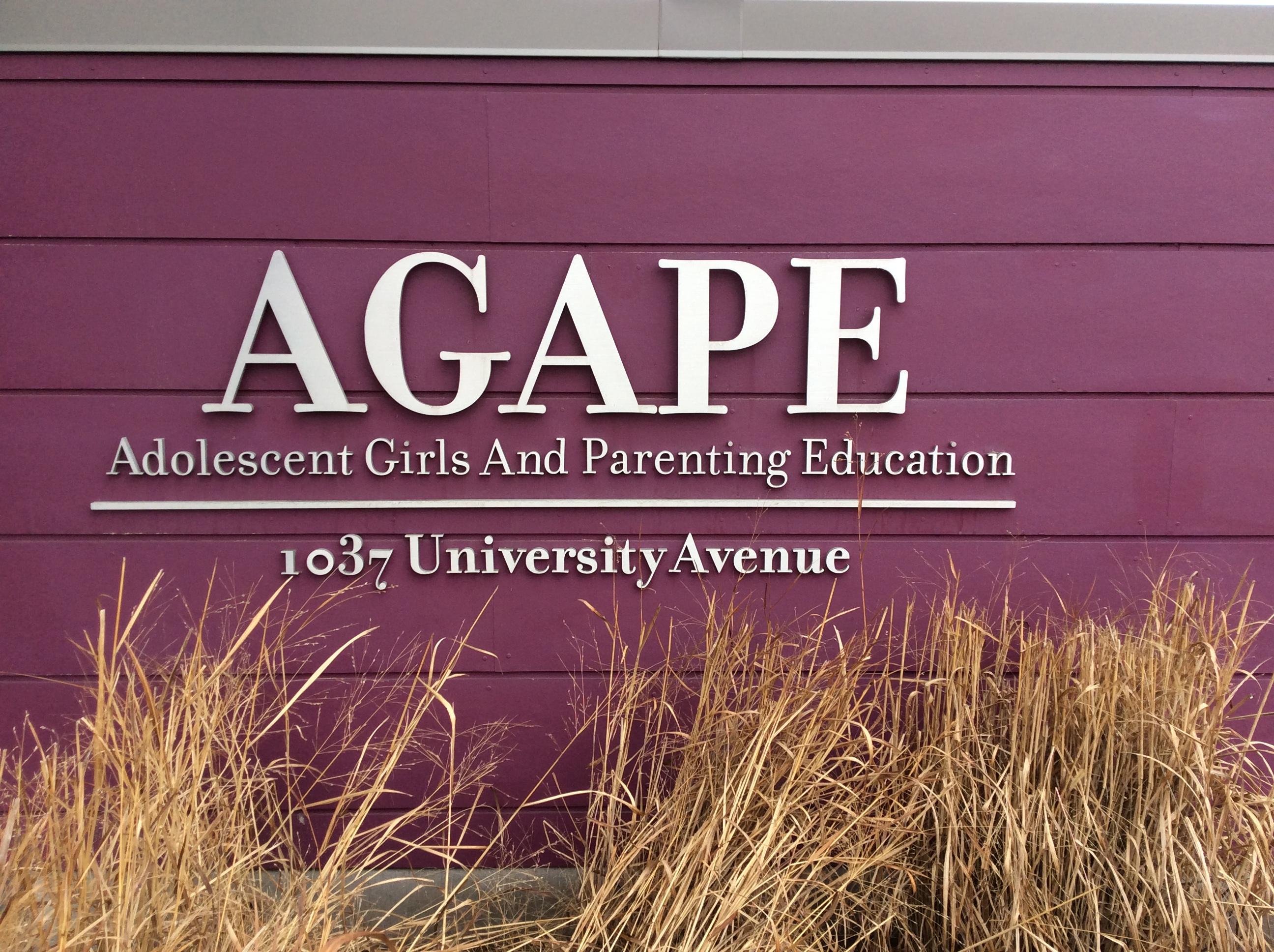 AGAPE Homepage