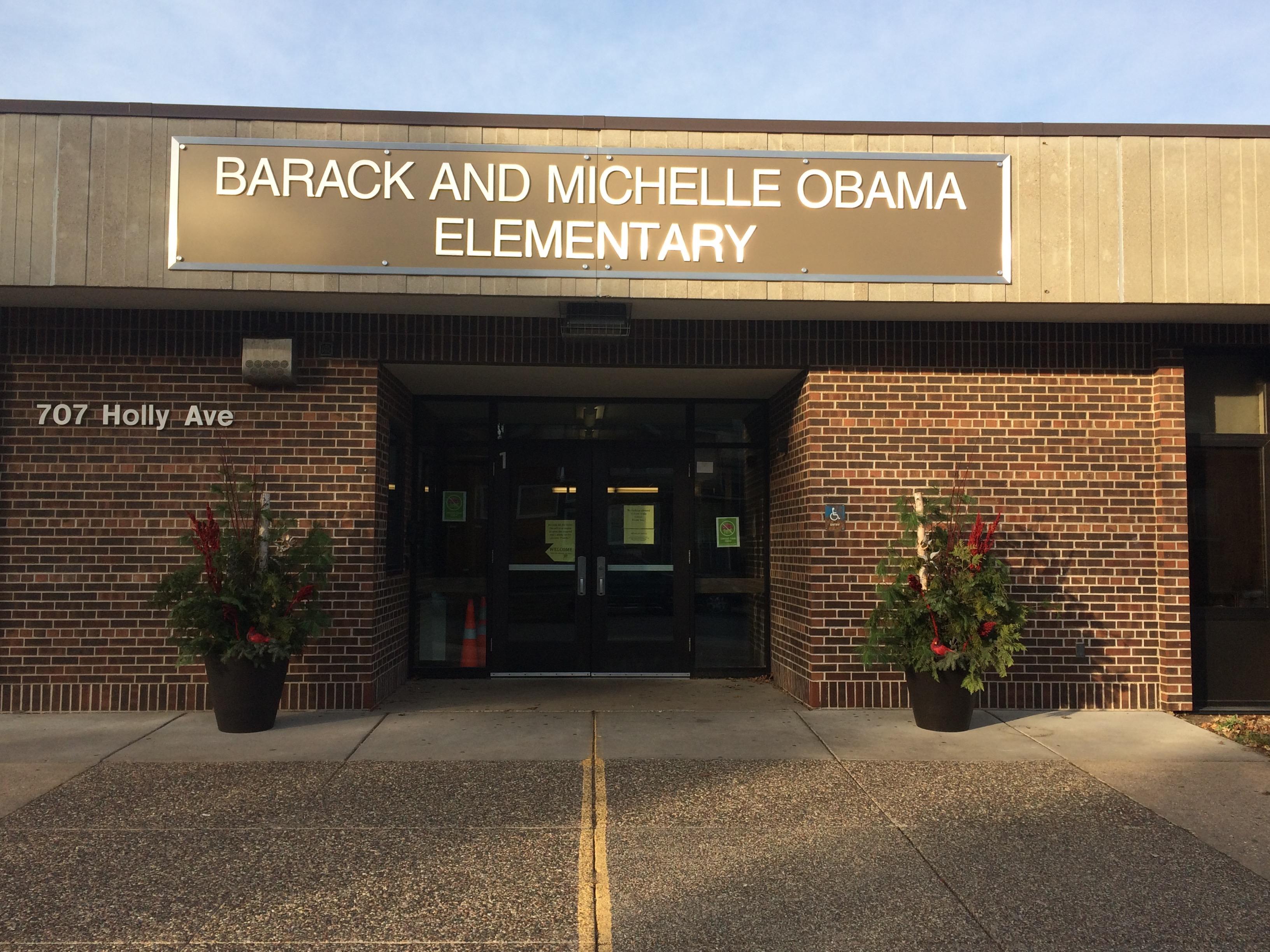 Obama Elementary School / Homepage