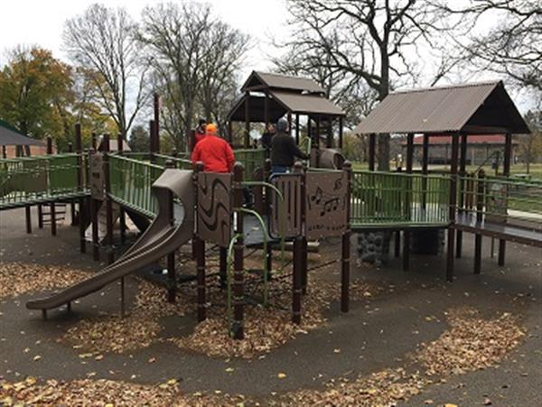 Tamarack Nature Center Playground
