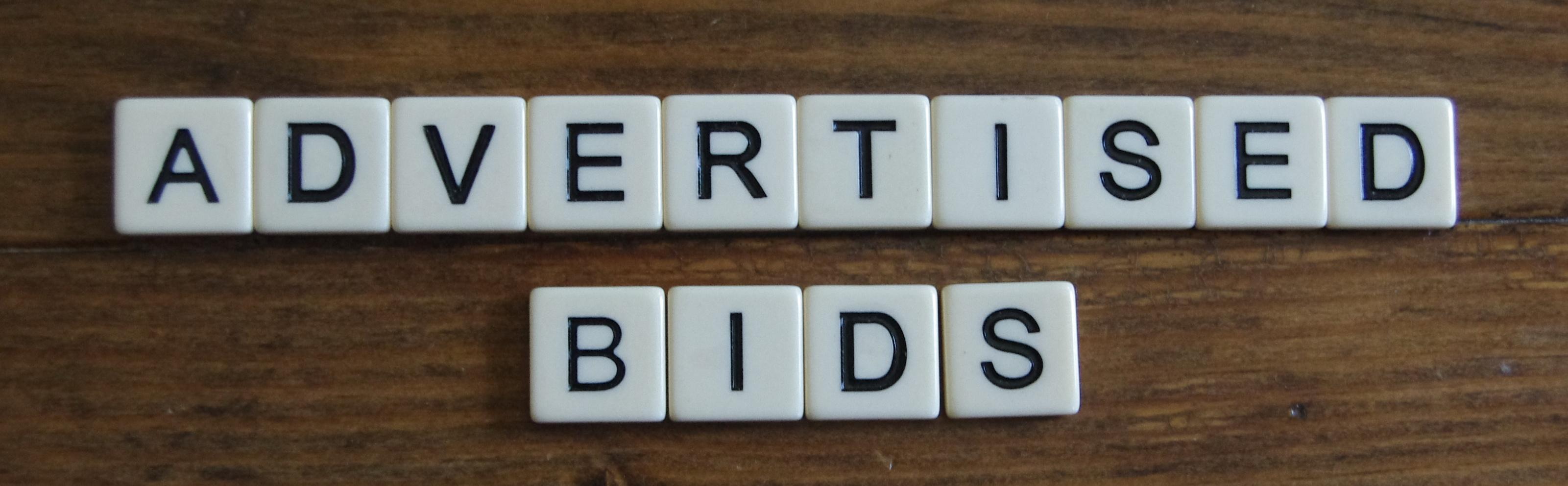 Advertised Bids/RFPs / Advertised Bids and RFPs