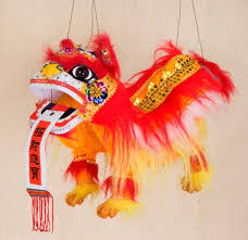 Chinese New Year Lion Head