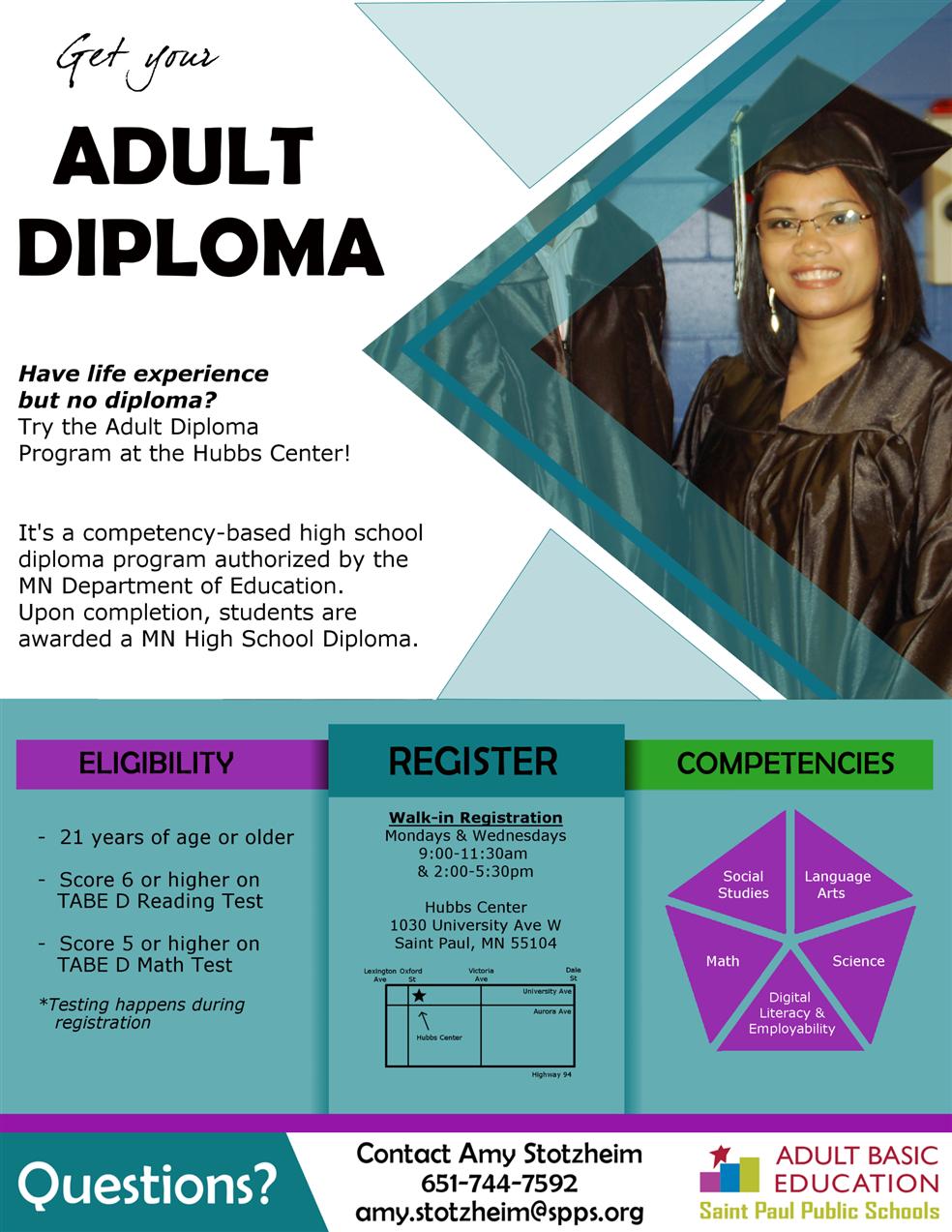 Adult Diploma 70