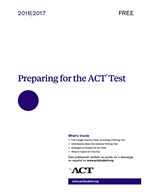 Preparing for ACT Test