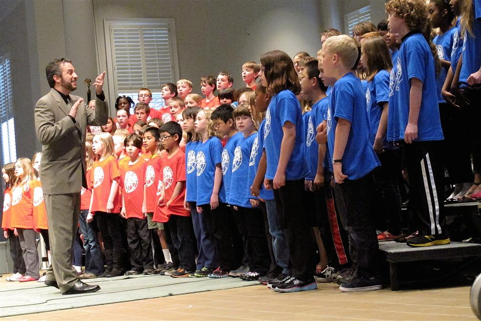 Grade 3-4 at ¡Cantaré! Concert