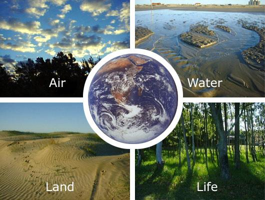 Air, Water, Land, Life