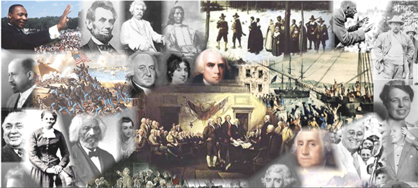 history collage