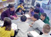students are introduced to concepts when they are ready in flexible and often multi-age groups.