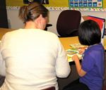 Teachers regularly discuss student's reading with them.