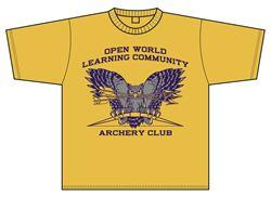 T-shirt OWL Archery Club