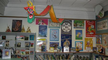 Our library image