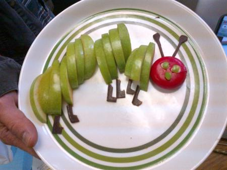 The Very Hungry Caterpillar, by Kindergarteners and Mr. Mayer