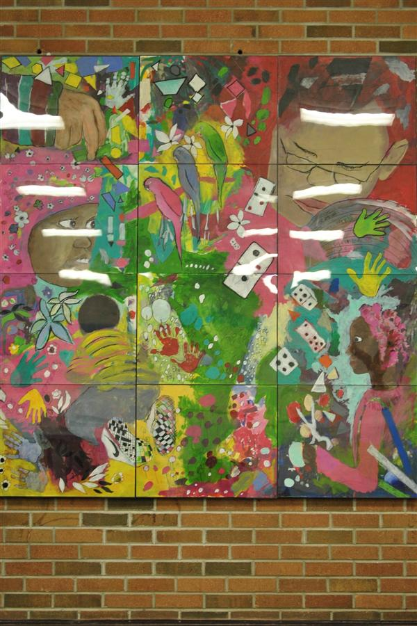 Student Created Mural