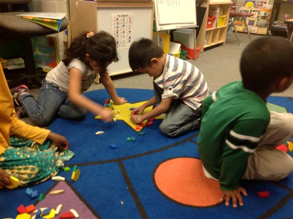 Pattern Blocks! Shapes! Partner Work!
