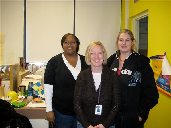 The Pre-K Team, Ms. Hune, Ms. Dotzler, and Ms. Harris